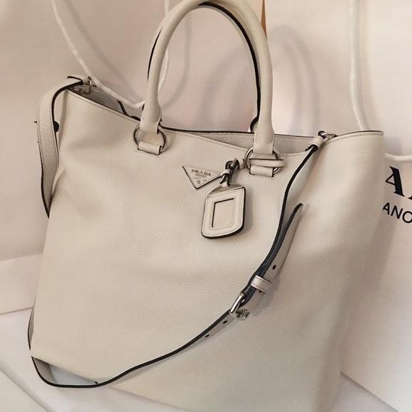 411a7f1a87fd Prada Bags | Nwt Vitello Daino Pebbled Shopper Bn1713 | Poshmark